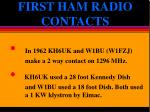 first ham radio contacts2