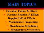 main topics1