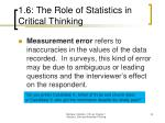 1 6 the role of statistics in critical thinking24