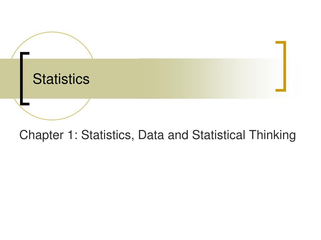 statistics l.