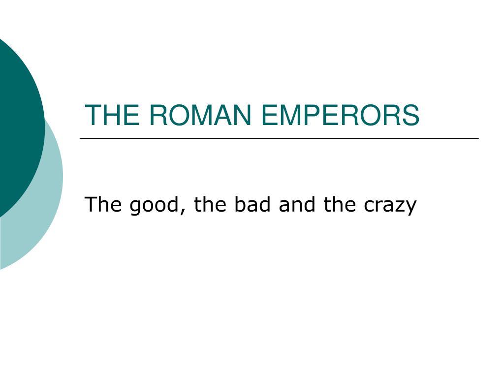the roman emperors l.