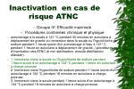 inactivation en cas de risque atnc14