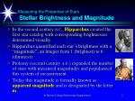 measuring the properties of stars stellar brightness and magnitude