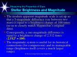 measuring the properties of stars stellar brightness and magnitude4