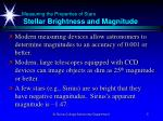 measuring the properties of stars stellar brightness and magnitude5