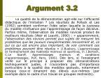 argument 3 2