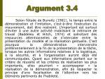 argument 3 4