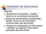 indexation de documents