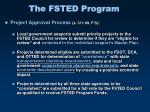 the fsted program21