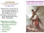 4 misterio doloroso jes s con la cruz a cuestas