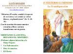 4 misterio luminoso la transfiguraci n