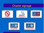 charter signage