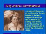 king james i counterblaste