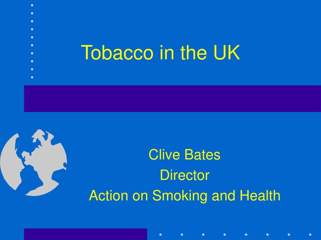 tobacco in the uk l.