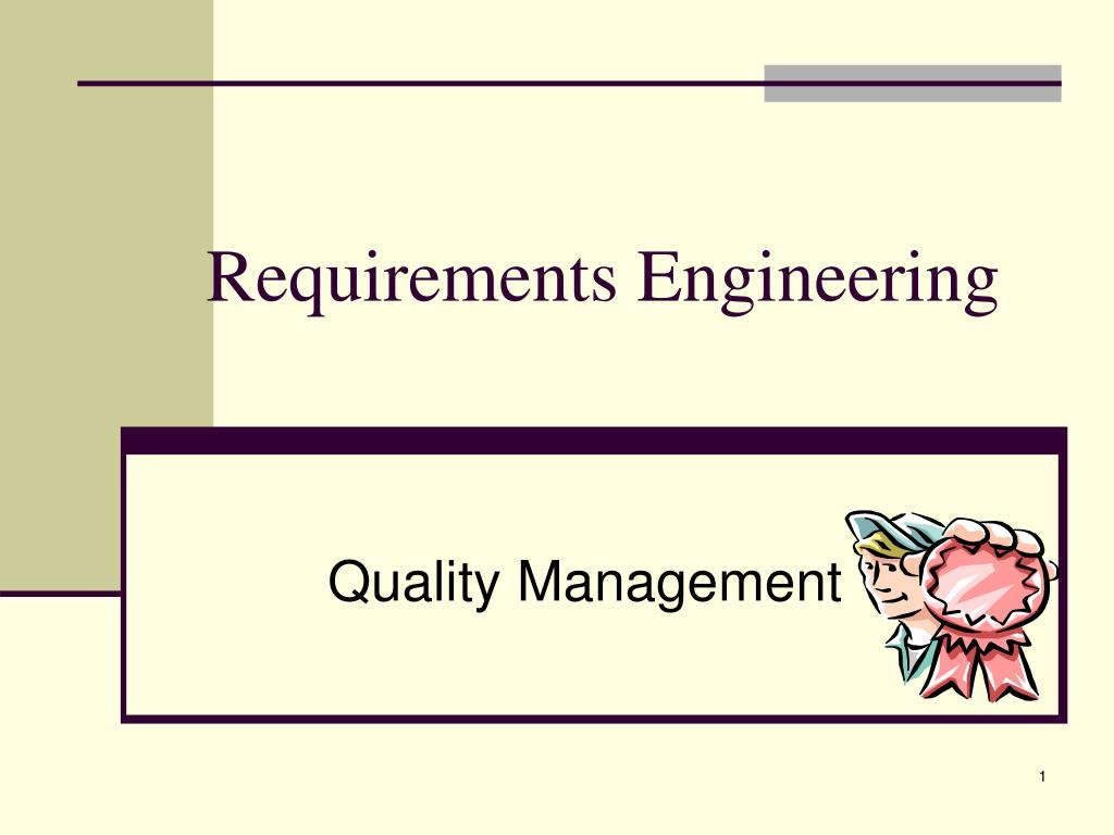 requirements engineering l.
