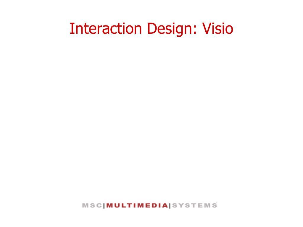 interaction design visio l.