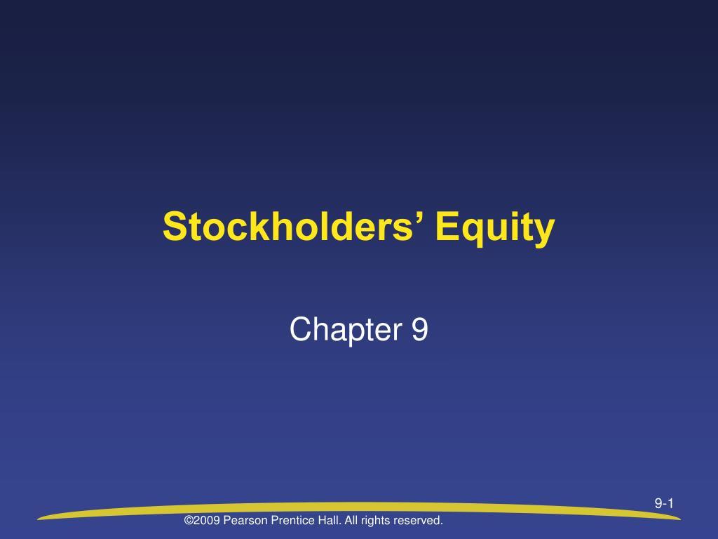 stockholders equity l.