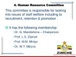 4 human resource committee