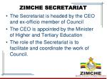 zimche secretariat