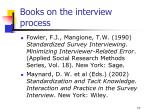 books on the interview process