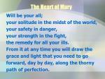 the heart of mary