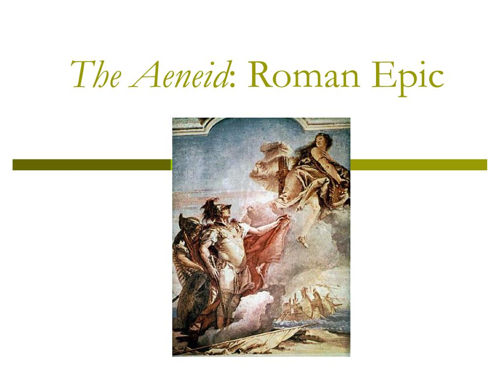 the aeneid roman epic l.