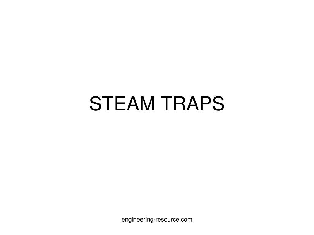 steam traps l.