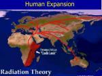 human expansion