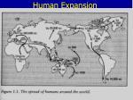 human expansion14