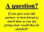 a question50