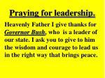 praying for leadership13
