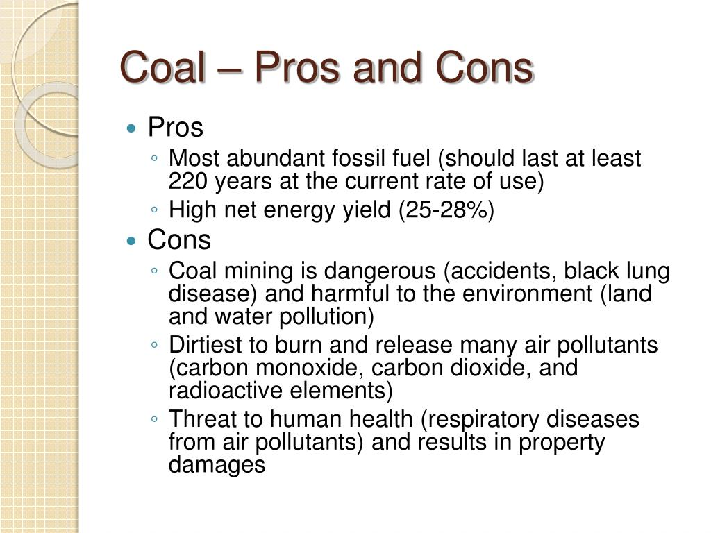 Pros And Cons Of Fossil Fuels >> Ppt Non Renewable Energy Resources How Do Dead Things Power Our