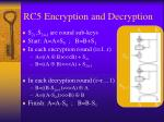 rc5 encryption and decryption