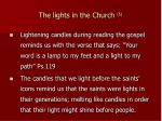 the lights in the church 5