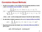 correlation based methods26
