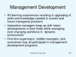 management development