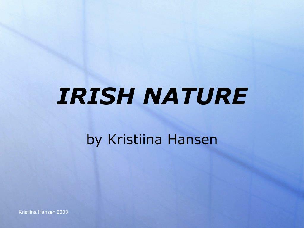 irish nature l.