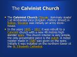 the calvinist church