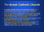 the greek catholic church