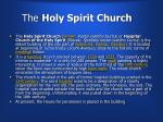 the holy spirit church