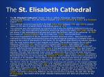 the st elisabeth cathedral