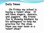 daily news92