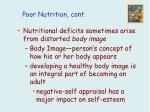 poor nutrition cont22
