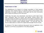 branch agencia