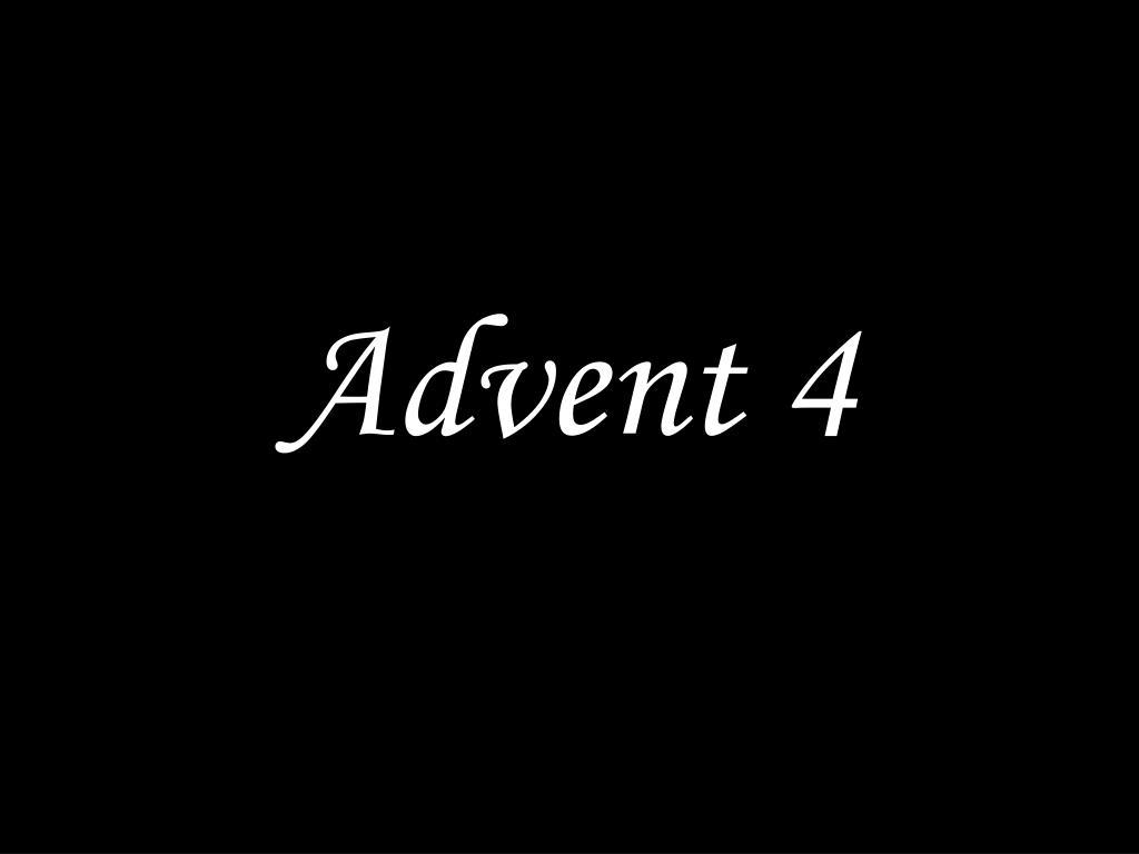 advent 4 l.