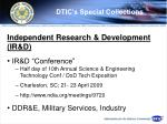 dtic s special collections70
