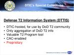 dtic s special collections72