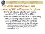 non agric market access and extent of dc willingness to reform
