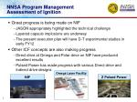 nnsa program management assessment of ignition