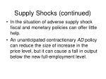 supply shocks continued52